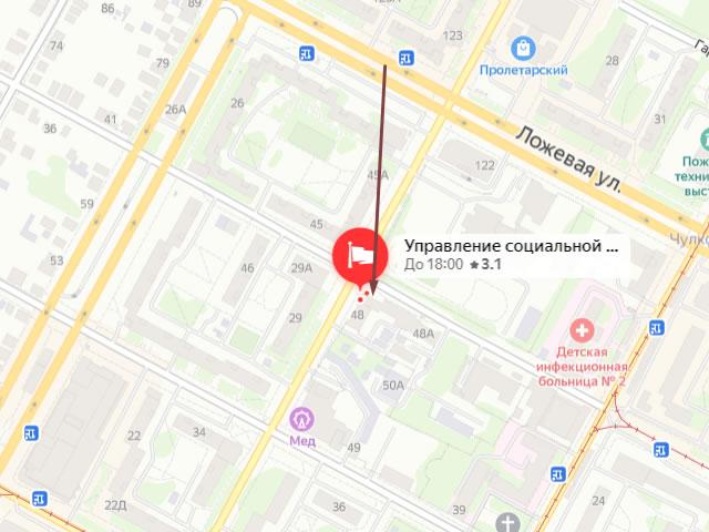 Отдел социальной защиты населения по г. Туле. Сектора по работе с населением Пролетарского района