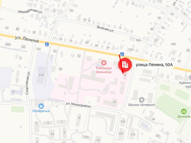 Управление социальной защиты населения Ветлужского района в г. Ветлуга на ул. Ленина